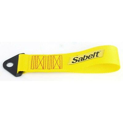 Sabelt Towing Loop Strap Tow Strap Yellow For Kit Car Track Rally