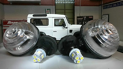 Land Rover Defender TD5 TDCI Front Sidelight Light/Lamp OEM Wipac x2 LED Bulb