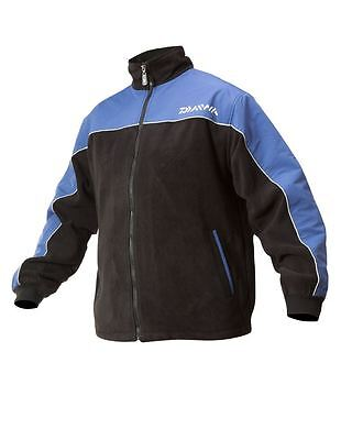 Daiwa Fleece Jacket Blue/Black Red/Black All Sizes M/L/XL/XXL DFJ