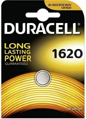 Duracell CR1620 3V Lithium Coin Cell Battery BR1620  DL1620 Long Lasting Power