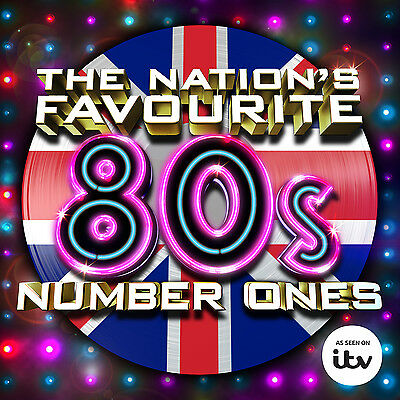 The Nation's Favourite 80s Number Ones - Various Artists (Album) [CD]