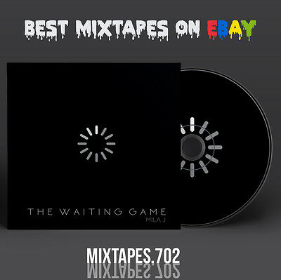 Mila J - The Waiting Game Mixtape (Artwork CD/Front/Back Cover) Future Drake