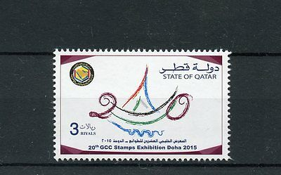 Qatar 2015 MNH 20th GCC Stamps Exhibition Doha 2015 1v Set