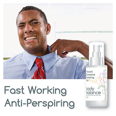 Body Balance Prevent Excessive Sweating Gel Sweaty Hands Feet Face Groin