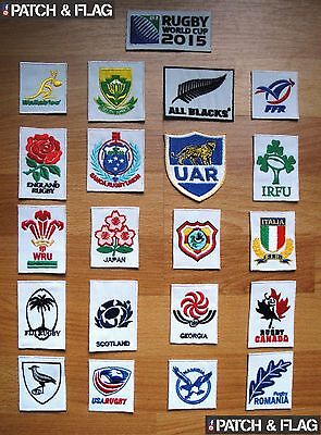 Rugby World Cup 2015 Patch + 20 Nations Patches Free Shipping!!