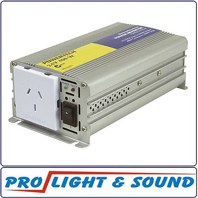 Inverter, Electrically Isolated, 400W (450W Surge) 24VDC To 230VAC 50Hz
