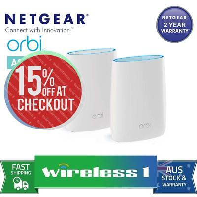 Free Express NETGEAR Orbi High-performance AC3000 Tri-band WiFi System (RBK50) A