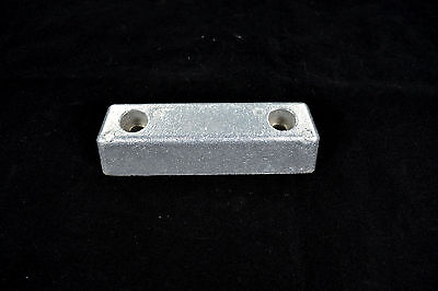 Aluminum Anode For Volvo Penta AQ290 and 290DP Transom Shield  852835   782