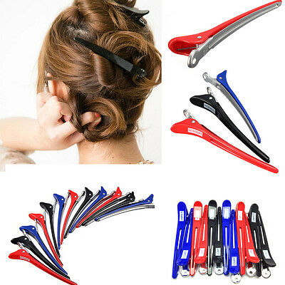 12Pcs Metal Professional Hairdressing Salon Section Hair Clip Styling Tools