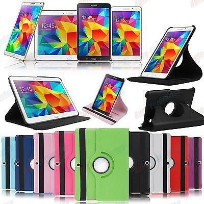 360° Rotating Stand Case for Samsung Galaxy Tab 3 4 S 7.0 8.4 10.1 10.5 Tablet