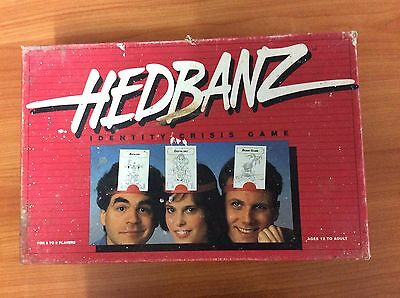 1991 Board Game - Hedbanz Identity Crisis Game - 100% complete