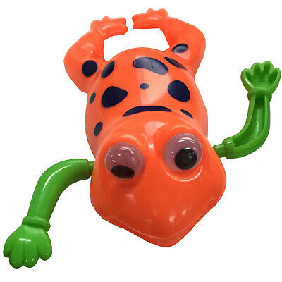 Swimming Cute Frog Baby Kid  Pool Bath Toy Battery Operated Wind-Up Clockwork