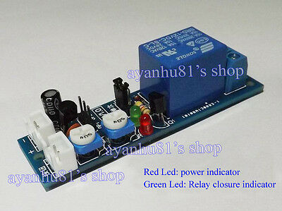 5V 12V Multifunction Timing Delay Cycle Timer Switch Relay Module Time 1s-120m