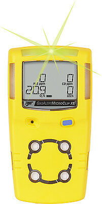 BW Microclip XL 4 gas Monitor with Mains Charger + FREE Carry Case