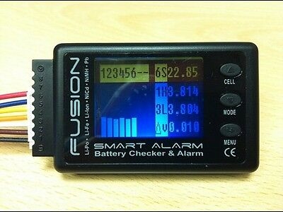 fusion-FS-BC06 Smart Alarm Lithium Battery Checker & Alarm NiP