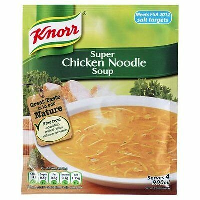 Knorr Super Chicken Noodle Soup 12 x 51g