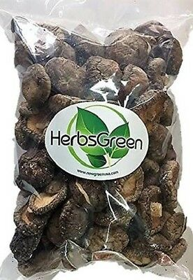 Herbsgreen A Grade Dried Shiitake Mushrooms (1 pound)