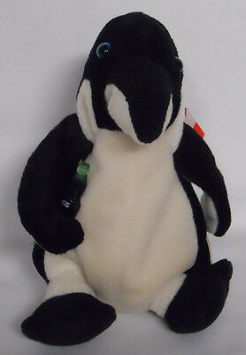 1999 Coca-Cola Chile Peng the Penguin Mini Bean Bag-Beanie