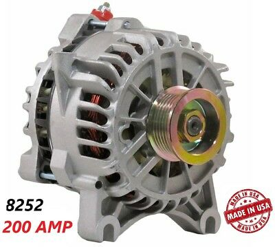 200 AMP 8252 Alternator Ford Mustang 1999-2004 4.6L NEW High Output Performance