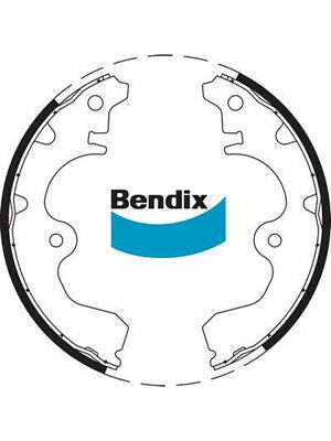 1 set x Bendix Brake Shoe (BS1731)