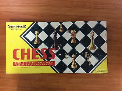 Vintage 1974 Board Game - Chess  - 100% Complete