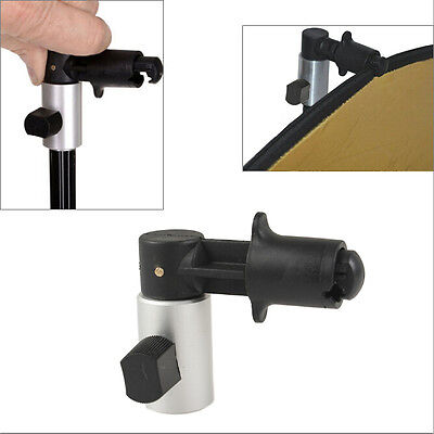 Disc Reflector Holder Clip Clamp for Photo Studio Backdrop Background Stand Kit