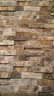 Feature wallpaper wall paper 10m roll Bricks Melbourne stock Fast shipping 40403