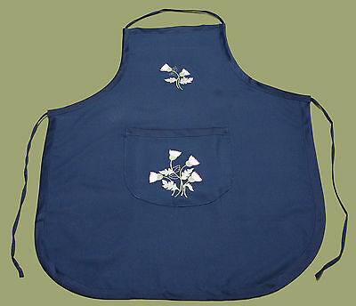 6 Scottish Thistle Adult Apron Bib Kitchen Dining Serving Waitress Aprons C160