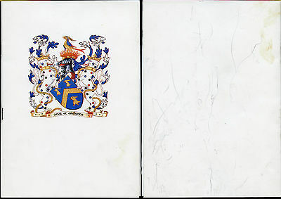 London Livery Dinner Menu Signed...2002 Mayoral Election Day