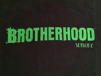 "SHOWTIME Series: BROTHERHOOD SEASON 2 ""FILM CREW"" L/S SHIRT ""NEW, NEVER WORN"" LG"
