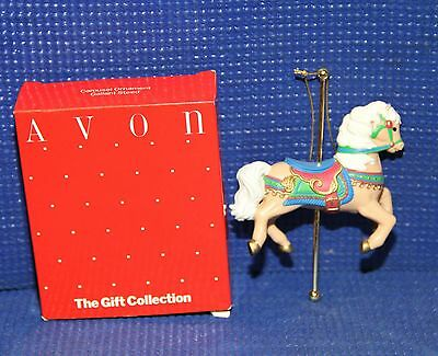 Avon Gallent Steed Christmas Ornament - See Pictures