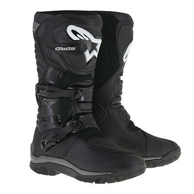 Alpinestars NEW Corozal Drystar Black Motorcycle Offroad Adventure Boots