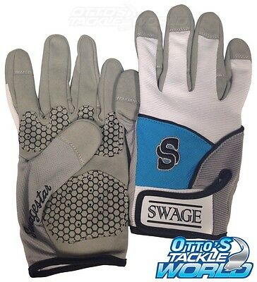 Swage Extreme Fishing Gloves Size Large (Pair) BRAND NEW at Otto's Tackle World