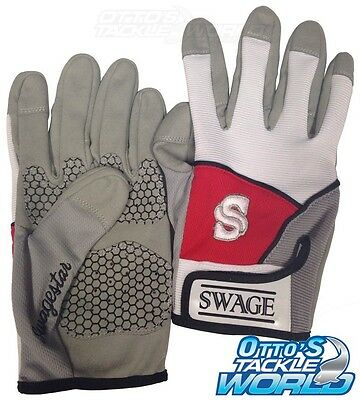 Swage Extreme Fishing Gloves Size XL (Pair) BRAND NEW at Otto's Tackle World