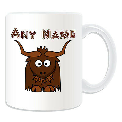 Personalised Gift Hippo Mug Money Box Cup Customise Name Message Coffee Silly