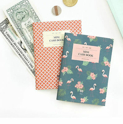 Iconic A6 Mini Cash Book V.2 Money Record Planner Schedule Book Diary Account