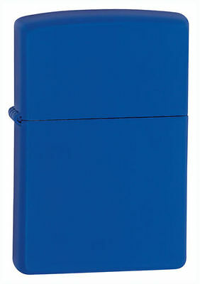 Zippo 229 Royal Blue Matte Windproof Classic Theme Pocket Lighter NEW