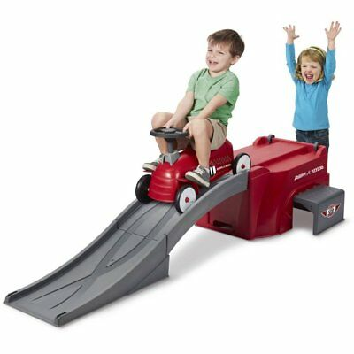 Toddler Ride On Racer Radio Flyer Ramp On/Off Track Riding Toy Push Car Train
