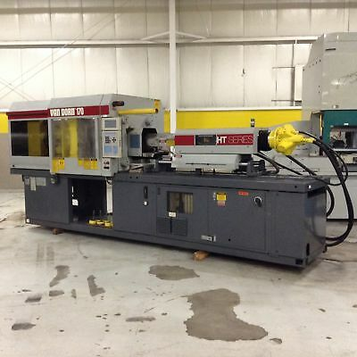 Van Dorn 170 Ton Injection Molding Machine 170-RS-8FHT Used #72647