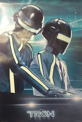 """Tron; Legacy, Daft Punk, Movie Poster 27"""" x 39"""", New, Shipped in Mailing Tube"""