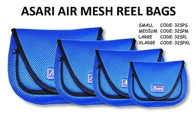 Asari Fishing Reel Cover Spinning Reel Bag Case with Breathable Fabric