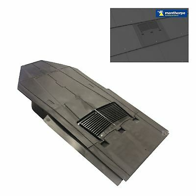 In-line Slate Roof Vent for Man-made & Natural Tiles / Extractor fan, Soil Pipe