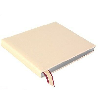 Aspinal of London Deluxe Wedding Guest Book Ivory Calf
