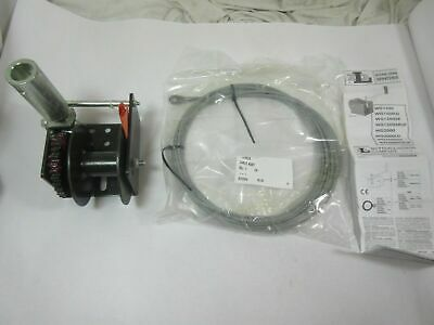 Dutton Laison Wg1500 Worm Gear Winch W/ 25 Ft 7/32 Wire Rope No Handle  New