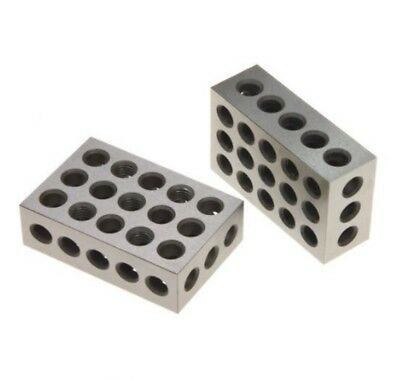 Shim Stock Blocks Matched Pair Hardened Steel Precision Machinist Milling 1 Pair