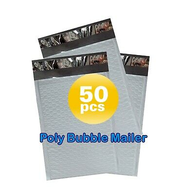 Yens® 50 #7 Poly Bubble Padded Envelopes Mailers 14.25 X 20
