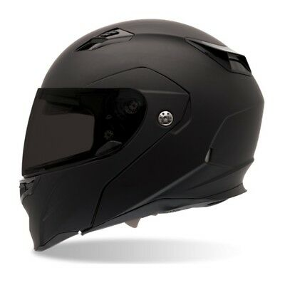 Bell NEW Revolver Evo Race Street Road Bike Matte Black Motorcycle Helmet