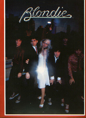 1979 Blondie Fan Club tour program souvenir program Deborah Harry Debbie Harry