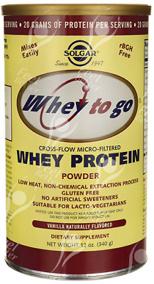 Whey Isolate Protein Powder inc Free Form Glutamine & BCAA'S - 340g