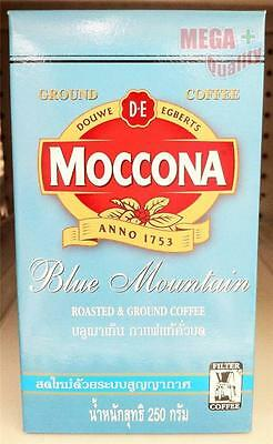 MOCCONA Blue Mountain ROASTED and GROUND COFFEE VACUUM PACKED FRESHNESS 250g